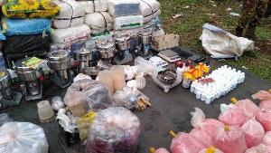 ตะลึง! พม่าทลายโรงงานยาบ้าใหญ่ติดชายแดนเชียงราย ยึดเครื่องปั๊ม-ผงยานรก-ยาบ้าอีก 8 ล้าน