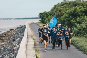 """อาดิดาส ประเทศไทย จัดกิจกรรม""""วิ่งเพื่อมหาสมุทร"""" ปกป้องท้องทะเล"""