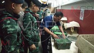 จับคาด่านห้วยหินฝน! รถตู้ขนแรงงานพม่าลอบขนปลาสวยงาม-ลูกเต่าต้องห้ามตามบัญชีไซเตสเกือบ 5 พันตัว