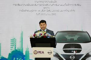 นายราเมช นาราสิมัน ประธาน  บจก.นิสสัน มอเตอร์ ประเทศไทย