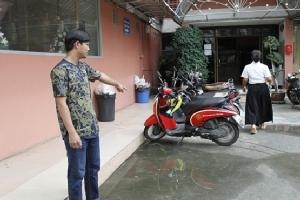 นักศึกษาโพสต์ช่วยตามหาจักรยานยนต์ถูกโจรขโมยไป