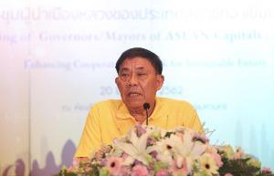 """""""อัศวิน"""" เผย พร้อมเป็นเจ้าภาพประชุมผู้นำเมืองหลวงประเทศสมาชิกอาเซียน ครั้งที่ 7"""