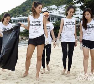 """""""มิกกี้-เจนี่"""" จูงมือร่วมโครงการเที่ยวทั่วไทยไปกับสุขภาพที่ดี"""