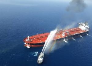 กองทัพเรืออิหร่านส่งเจ้าหน้าที่เข้าไปช่วยดับเพลิงที่ลุกไหม้เรือบรรทุกน้ำมัน ฟรอนท์ อัลแทร์ (Front Altair) หลังถูกโจมตีในอ่าวโอมานเมื่อวันที่ 13 มิ.ย.