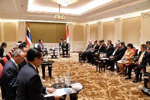 นายกฯ หารือทวิภาคีกับ 3 ผู้นำประเทศสมาชิกอาเซียน พร้อมให้ความร่วมมือเมียนมากรณีรัฐยะไข่