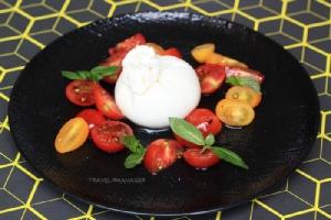 Imported Burrata, Vine Tomatoes, Culatello