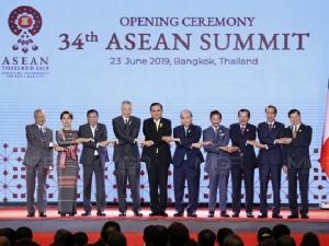 ผู้นำ 10 ชาติ ร่วมประชุมอาเซียน
