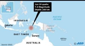 แผ่นดินไหวแรง 7.3 เขย่าอิเหนา สั่นถึงออสเตรเลีย แต่ไร้เตือนสึนามิ