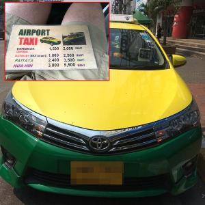แท็กซี่ดอนเมืองโหด โก่งราคานักท่องเที่ยวต่างชาติ เริ่มต้นที่ 1,500 บาท