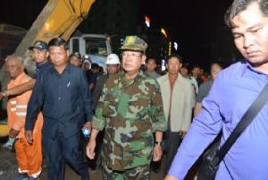 'ฮุนเซน' เด้งรัฐมนตรีเซ่นอาคารถล่ม ผู้ว่าฯ ยื่นลาออกรับผิดชอบความผิดพลาด