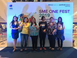 """สสว. ปลื้ม """"SME ONE FEST 2019"""" เงินสะพัดกว่า 1.2 ล้านบาท"""