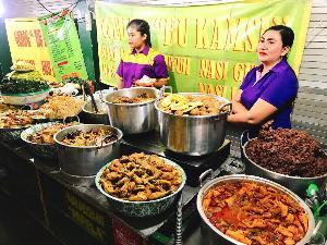 สตรีท ฟู้ด ย่าน Wedangan Pak Di เมืองสุราการ์ตา