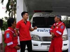 เปิดใจบุรุษไปรษณีย์เมืองสงขลา ควบมอเตอร์ไซค์นำทางรถกู้ภัยช่วยชีวิตผู้ป่วยทันเวลา
