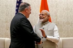 """In Clips :พอมเพโอเยือน """"อินเดีย"""" ถกปัญหาค้า-ดีลระบบต่อต้านอากาศยานรัสเซีย-น้ำมันอิหร่าน"""