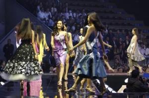 ประมวลภาพสาวงามเวทีประกวด Miss Universe Thailand 2019
