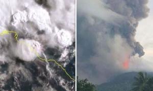 ปาปัวนิวกินีส่งทหารช่วยเหลือประชาชนในพื้นที่ภูเขาไฟปะทุ