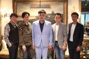 """มอบสายสะพาย """"มาร์ติน มิดาล"""" ตัวแทนประเทศไทยประกวด Mister National Universe 2019"""