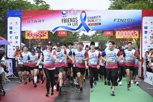 กราบหัวใจ! ศิลปิน-ดาราร่วมวิ่งการกุศล Friends For Life ยอดบริจาคทะลุ 100 ล้าน