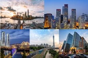 10 กลุ่มเขตเมืองศักยภาพระดับนครหลวงจีน