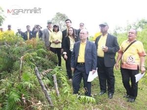 ผู้ตรวจการแผ่นดินลุยแก้ปัญหาที่ดินบนเกาะสุกร กรณีออกโฉนดทับซ้อนที่สาธารณะ