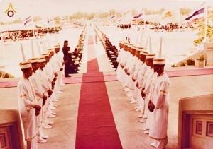 พิธีผูกสีมา อุโบสถวัดพระธรรมกาย เมื่อ 29 เมษายน 2523