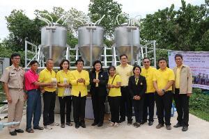 วช.มอบนวัตกรรมเครื่องอบเมล็ดพันธุ์-เครื่องผลิตข้าวฮางงอกให้เกษตรกรพะเยา