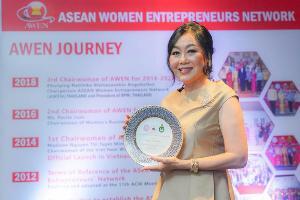 วัลยา จิราธิวัฒน์ คว้ารางวัลผู้ประกอบการสตรีที่มีผลงานโดดเด่นแห่งอาเซียนประจำปี 2019