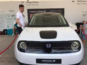 ฮอนด้า  โดดร่วมศึกตลาดรถไฟฟ้า เปิดรับจอง Honda e ที่อังกฤษ