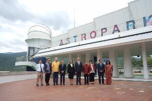 """""""ศูนย์ฝึกอบรมดาราศาสตร์ยูเนสโก"""" แห่งของโลกอยู่ที่เชียงใหม่"""