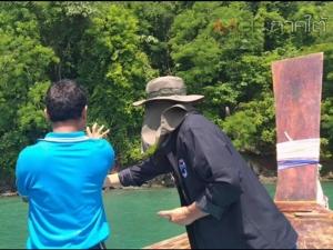 กรมการท่องเที่ยวเข้าแจ้งความเพิ่มทีมถ่ายรายการเกาหลีจับหอยมือเสือ