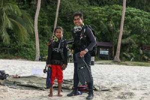 """ค่ายเยาวชนอนุรักษ์ทะเล """"Rejuvenating the Oceans"""" ปลูกฝังจิตสำนึกปกป้องธรรมชาติ"""