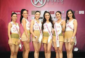 """รู้จัก 24 สาว ผู้ท้าชิงมงกุฎ """"มิสไทยแลนด์เวิลด์ 2019"""""""