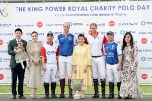 """""""เจ้าชายวิลเลียม-แฮร์รี"""" เสด็จแข่ง The King Power Royal Charity Polo Cup 2019 ที่อังกฤษ """"เซเลบ-ดาราไทย"""" แน่น ร่วมย้อนรำลึกถึง """"เจ้าสัววิชัย"""""""