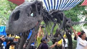 """ข่าวดีอีกแล้ว!ค้นพบไดโนเสาร์สายพันธุ์ใหม่สายพันธุ์ที่ 10 """"ภูเวียงเวเนเตอร์ฯ"""" ที่ อช.ภูเวียง"""