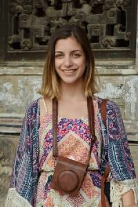 Nikoletta Ventoura เจ้าหน้าที่พัฒนาการสื่อสารกับชุมชน กับหน่วยงาน MeXOXO จากประเทศกรีซ