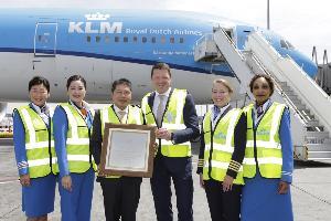 สายการบินเคแอลเอ็ม รอยัลดัตช์ แอร์ไลน์ (KLM) ฉลองครบรอบ 90 ปี เส้นทางบินกรุงเทพฯ-อัมสเตอร์ดัม