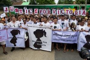 ชาวพม่าแคลงใจคดีข่มขืนเด็กตำรวจจับแพะ ลือสะพัดโซเชียลคนร้ายตัวจริงเส้นใหญ่