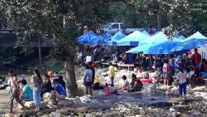 ประชาชน-นักท่องเที่ยวแห่พักผ่อนตามแหล่งท่องเที่ยวใน จ.ปราจีนบุรี ช่วงวันหยุดอาสาฬหบูชา