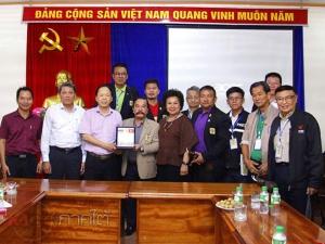 สนพท.เยือนเวียดนามพบปะ 5 สมาคมสื่อมวลชนเพื่อแลกเปลี่ยนเรียนรู้วิชาชีพ