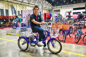"""สังคมสูงอายุดันจักรยานสามล้อโตแรง """"ราชา ไซเคิล"""" ขยายโออีเอ็มเฉพาะทาง"""