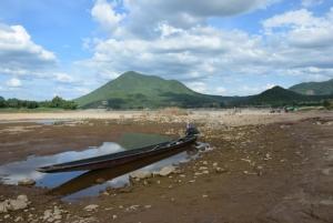 ระดับน้ำโขง ที่อ.เชียงคาน จ.เลย แห้งขอด แม้ว่าจะอยู่ในช่วงหน้าฝน