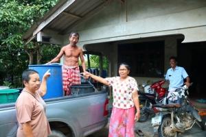 ชาวบ้านสุดทน! ต้องอาบน้ำคลองน้ำขี้ช้าง หลังน้ำประปาหมู่บ้านไม่ไหลกว่าครึ่งเดือน