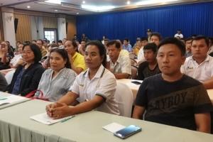 """ส.ส.กระบี่ """"สฤษฎ์พงษ์"""" พรรคภูมิใจไทย ดันเกษตรกรชาวสวนปาล์มผุดโรงงานบี 100 แก้ปาล์มราคาตกต่ำ"""