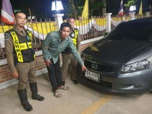 ตำรวจทางหลวงจับแก๊งซิ่ง ใช้ทะเบียนปลอมทำผู้เสียหายโดนใบสั่งความเร็ว 9 ใบ พบประวัติโชกโชนทั้งถล่มอริตาย ปล้นทรัพย์