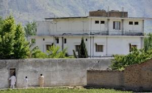 บ้านพักซึ่งเคยเป็นที่หลบซ่อนของ อุซามะห์ บินลาดิน ในเมืองอับบอตตาบัดของปากีสถาน (แฟ้มภาพ)