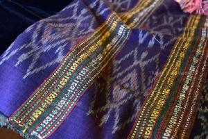 ลวดลายผ้าของกลุ่มทอผ้าพื้นเมืองบ้านนาป่าหนาด