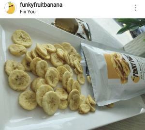 """""""ปอ- ณฐมน"""" กับบทบาทนักธุรกิจเสิร์ฟสินค้าเพื่อสุขภาพ แบรนด์ FunkyFruit ผลไม้แปรรูปกล้วยหอมทองแท้อบกรอบพรีเมี่ยม"""