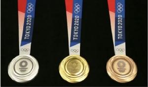 """ยลโฉมเหรียญรางวัล """"โตเกียว โอลิมปิก 2020"""""""