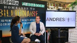 """หนังสือดีขายดีในอเมซอน Homeless To Billionaire ชีวิตจริงจากชายไร้บ้านสู่มหาเศรษฐีพันล้านในไทย """"อันเดรส พิร่า"""""""