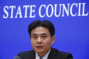 <i>หยาง กวง  โฆษกของสำนักงานกิจการฮ่องกงและมาเก๊า แห่งคณะรัฐมนตรีจีน </i>